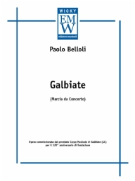 Score and Parts Junior Band  Galbiate (Concert March)