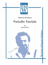 Score and Parts Wind Quintet Preludio Traviato