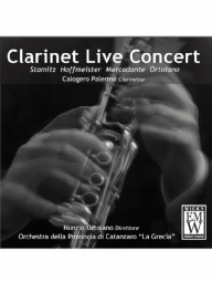 Score and Parts CD Clarinet Live Concert