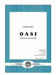 Score and Parts Saxophone Quartet Oasi