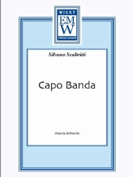 Score and Parts Marches Capo Banda