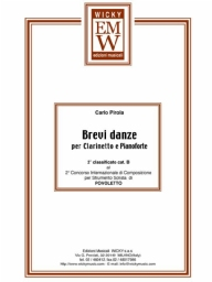 Partitura e Parti Clarinetto Brevi Danze