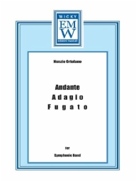 Score and Parts Original Concert Works Andante Adagio Fugato