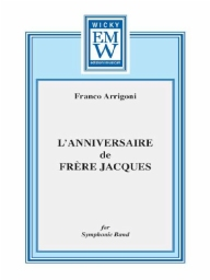 Score and Parts Original Concert Works Anniversaire de Frère Jacques