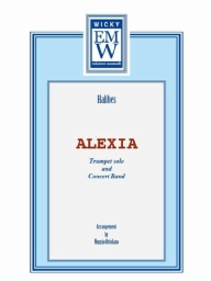 Score and Parts Original Concert Works Alexia