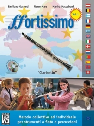 Score and Parts Fortissimo (metodo per strumento) Fortissimo  Clarinetto