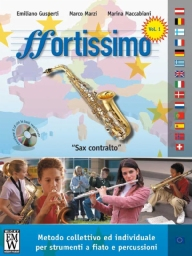 Score and Parts Didattica Fortissimo  Alto Sax