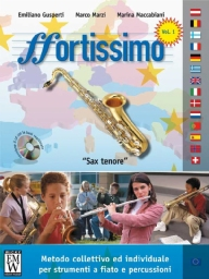 Score and Parts Didattica Fortissimo  Tenor Sax