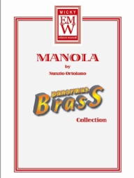 Score and Parts Brass Quintet Manola