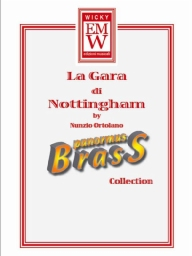 Score and Parts Brass Quintet La Gara di Nottingham