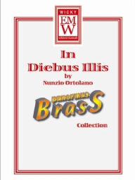 Score and Parts Brass Quintet In Diebus Illis