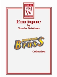 Score and Parts Brass Quintet Enrique