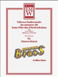 Score and Parts Brass Quintet Missa Solemnis
