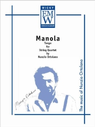 Score and Parts String Quartet Manola