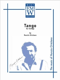 Score and Parts Orchestra d'archi Tango for strings