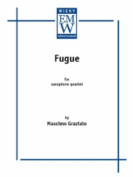 Partitura e Parti Quartetto di sax Fugue
