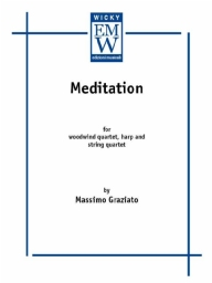 Score and Parts String Orchestra Meditation