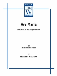 Score and Parts Vocal Ave Maria