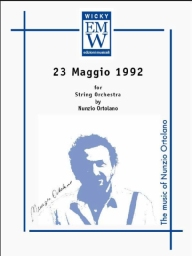 Score and Parts String Orchestra 23 Maggio 1992