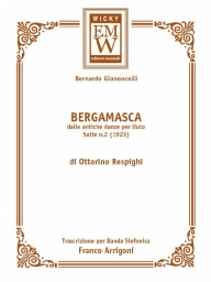 Score and Parts Italian Repertoir Bergamasca