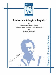 Score and Parts Orchestra Andante Adagio Fugato