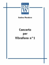 Score and Parts Orchestra Concerto per Vibrafono N°1