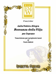 Partitura e Parti Operetta La Romanza della Vilja (frm The Merry Widow)