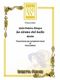 Partitura e Parti Operetta Le Sirene del Ballo (frm The Merry Widow)