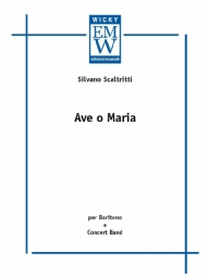 Score and Parts Sacred Music Ave o Maria