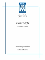 Score and Parts Guitar Silent Night (version for Tremolo)