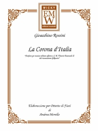 Score and Parts Ensemble di legni la corona d'Italia
