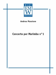 Score and Parts Orchestra Concerto per Marimba N 1