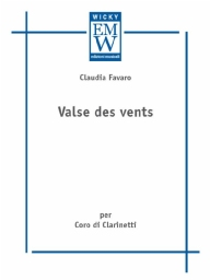 Score and Parts Clarinet Choir Valse des Vents