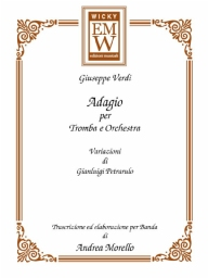 Score and Parts Classical Transcriptions Adagio per Tromba e Orchestra