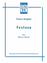 Score and Parts Brani originali Festosa (Brass Band)