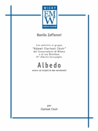 Score and Parts Clarinet Choir Albedo
