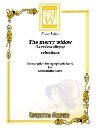 Partitura e Parti Operetta The Merry Widow Selection (La Vedova Allegra)