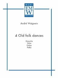 Partitura e Parti Musica originale da concerto 4 Old Folk Dances