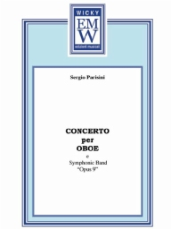 Score and Parts Soloist & Concert Band Concerto per Oboe