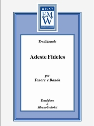 Score and Parts Christmas Music Adeste Fideles