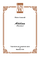 Score and Parts Classical Transcriptions Adelina (Ouverture)