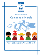 Score and Parts Christmas Music Campane a Natale