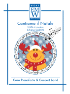 Score and Parts Christmas Music Cantiamo il Natale