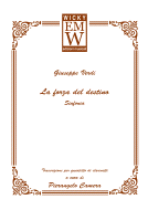 Score and Parts Ensemble di legni La forza del destino (sinfonia)